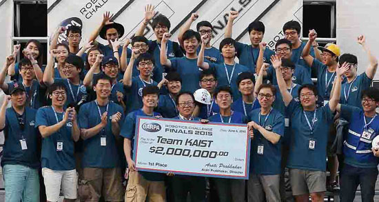 Image result for カイスト darpa 優勝