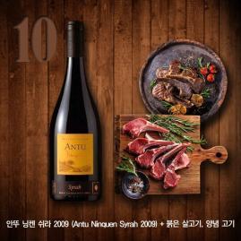 [서한정이 뽑은 이주의 와인] ⑩ 양념갈비와 어울리는 칠레 와인 '안투 닝켄 쉬라'