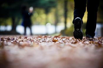 [김경록 기자의 '작은 사진전'] 이 가을, 낙엽을 밟으며