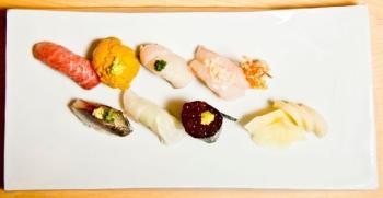 [레드스푼 5] 일본 명인이 숙성한 스시, 첫입에 감칠맛