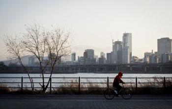 [김경록 기자의 '작은 사진전'] 뚝섬 겨울 풍경