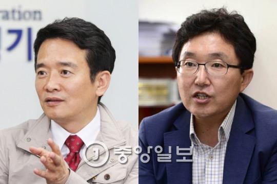 """남경필·김용태 탈당 선언 """"새누리당 존립이유 사라졌다"""""""