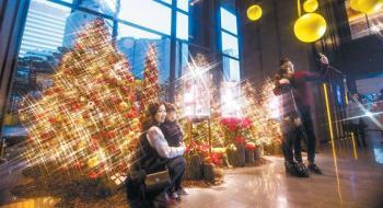 [트렌드] 크리스마스 인생샷은 여기서 … 호텔·백화점 베스트 포토존 11곳