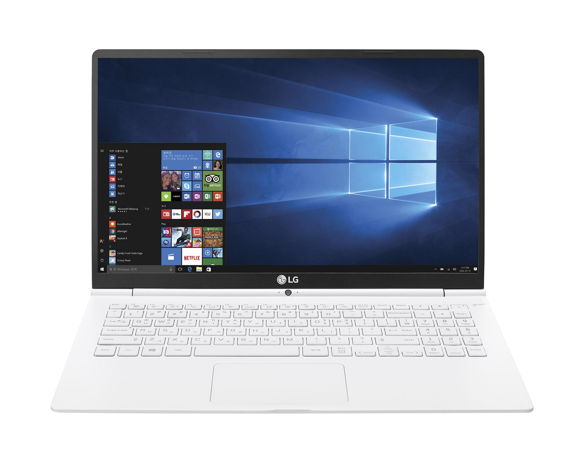 세상에서 가장 가벼운 14인치 노트북은 LG '그램 14'