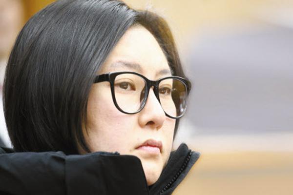 최순실씨 조카 장시호(38)씨.
