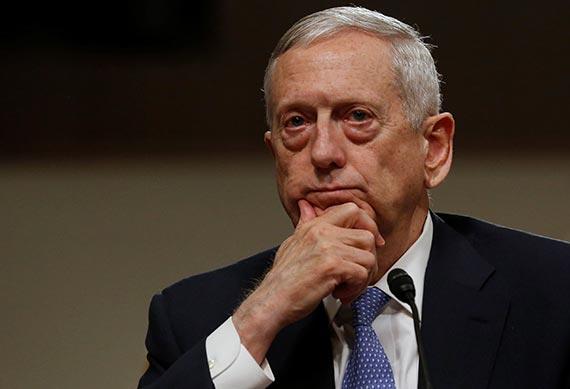 """매티스 """"주한미군 철수계획 없다, 한·일과 긴밀히 협력"""""""