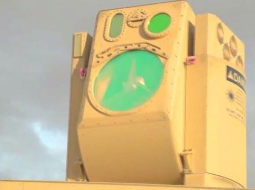 <b>레이저 요격 체계</b> 소형 무인기를 격추하는 무기. 출력을 높이면 북한의 장사정포탄도 막아낼 수 있다. 사진은 미국의 보잉이 드론 요격용으로 개발한 고에너지 레이저 이동형 시현장치(HEL MD). [사진 보잉]