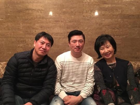 노승일 씨, 고영태 씨, 손혜원 의원 [사진 손혜원 의원 페이스북]