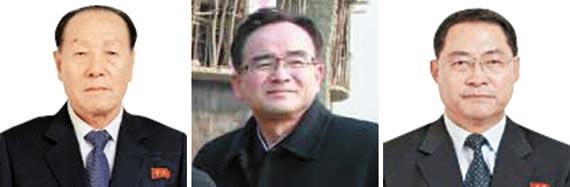 """""""북 비선 실세는 조연준·조용원·박태성"""""""