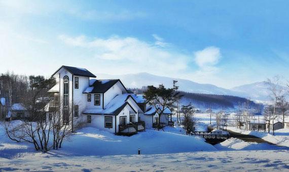 가수 이상우 씨의 대관령 집과 별채