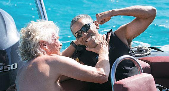 [사진] 자유인 오바마