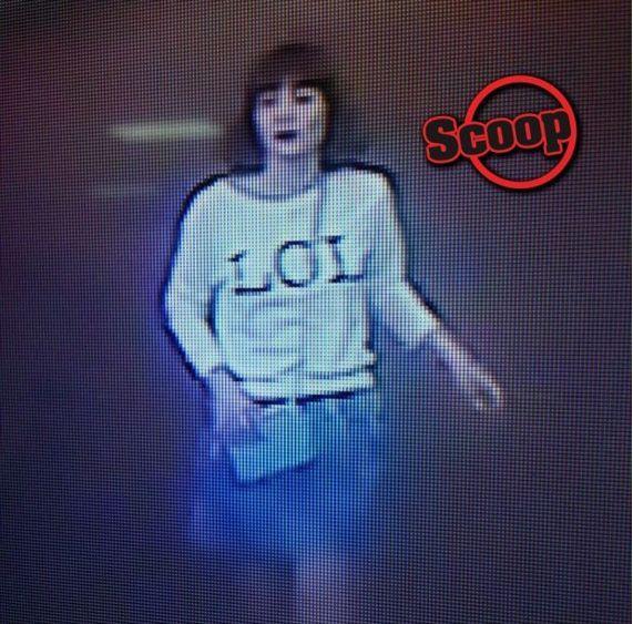 지난 13일 김정남 피살 당시 공항 폐쇄회로TV에 찍힌 유력 용의자 여성 사진. 앞면에 큼직하게 'LOL'이 새겨진 흰색 티셔츠를 입은 모습이다.