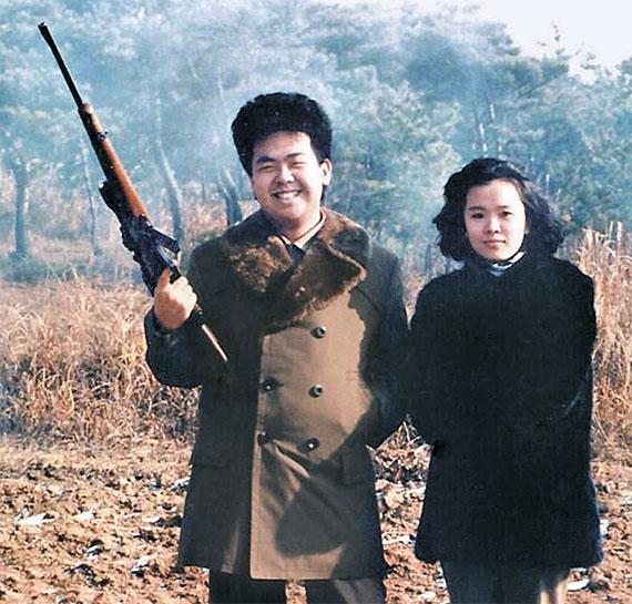 [사진] 19세 김정남과 사촌 누나 이남옥