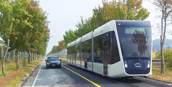 대전시가 도입 검토하는 트램. [사진 대전시]
