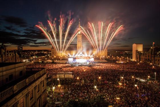 건국 150주년 기념 무료 이벤트도 다양하다.[사진 캐나다관광청]