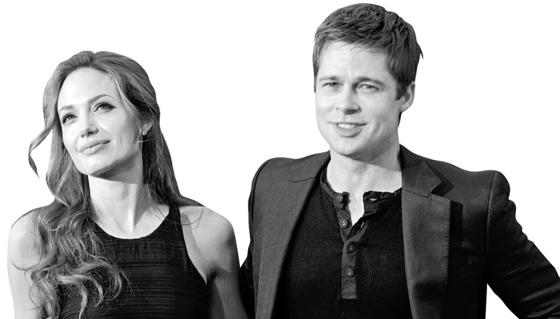 할리우드 '잉꼬부부'였다 최근 이혼 소송 중인 브래드 피트(53)와 안젤리나 졸리(41).