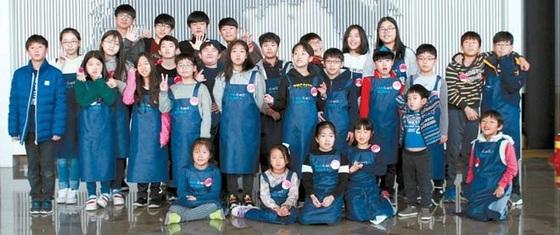 영 메이커 프로젝트 첫 과정을 마친 경기창조경제혁신센터 참가자들.