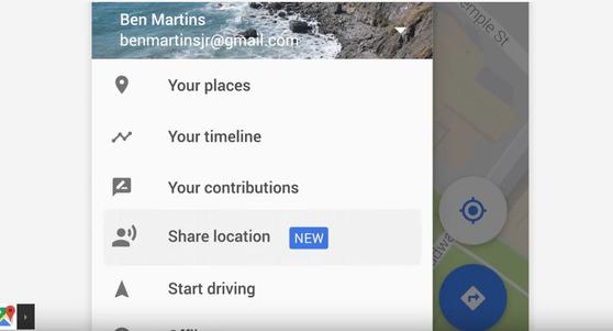 """사라지는 """"여보 어디야""""…구글 지도, 버튼 한 번으로 가능한 간편 위치 추적 기능 추가"""