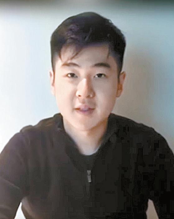 김정남의 아들 김한솔은 최근 유튜브를 통해 유창한 영어로 자신의 근황을 전했다. [사진캡쳐·유튜브]