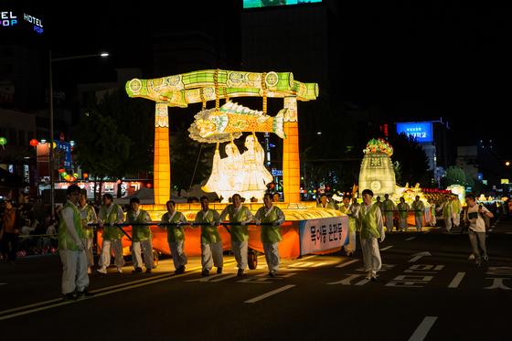 부처님오신날 연등행렬