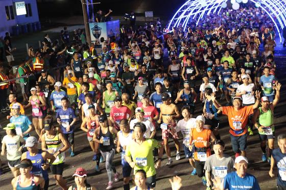 4월 9일 유나이티드 괌 마라톤 2017이 열렸다. [유나이티드 괌 마라톤]