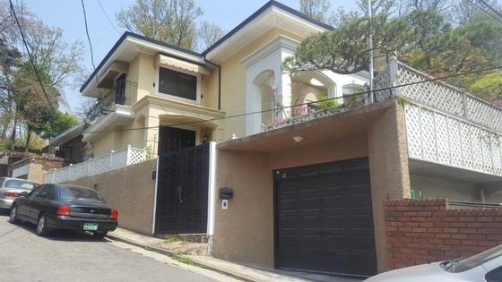 박근혜 전 대통령 측이 구입한 내곡동 자택. 김준영 기자
