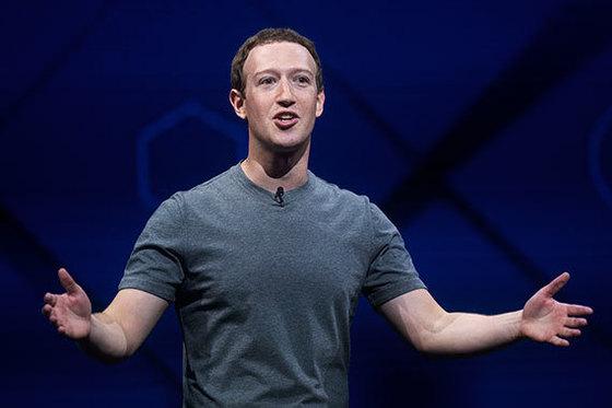 저커버그는 뇌와 컴퓨터를 연결하는 기술 등을 페이스북의 미래 먹거리로 제시했다. [AP=뉴시스]