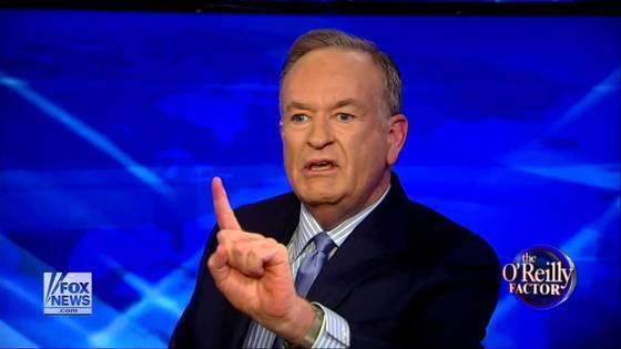 폭스뉴스 간판앵커 빌 오라일리 [사진 Fox News O'Reilly Factor 캡쳐]