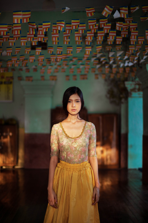 미얀마, 양곤. [사진 미하엘라 노로크]