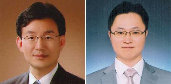 성태윤 교수(左), 김상봉 교수(右)
