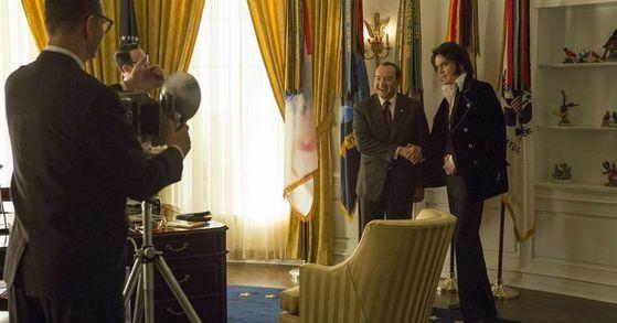 '엘비스와 대통령'