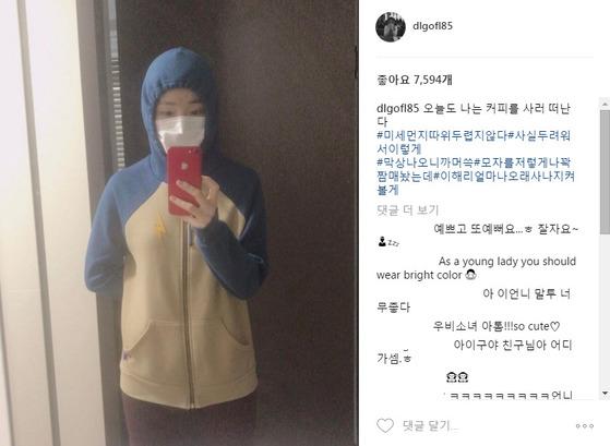"""멤버 SNS에 """"극혐"""" 댓글 단 여자 연예인"""