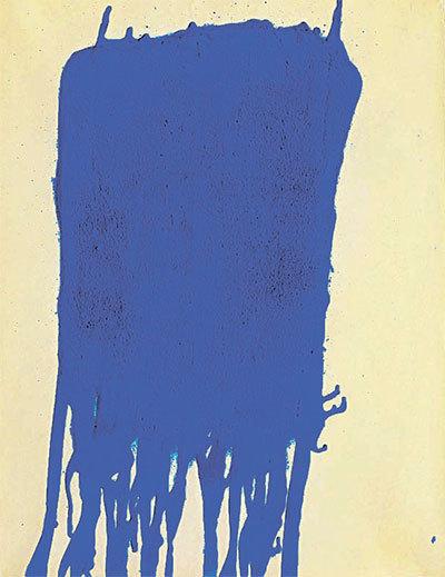 이브 클라인, 'Blue', 1960.