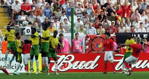 2006 독일 월드컵 당시 토고전에서 프리킥으로 동점골을 만들어낸 이천수 現 JTBC 해설위원