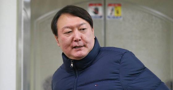 '박근혜-최순실 게이트' 특검 당시 윤석열 특별검사. 신인섭 기자