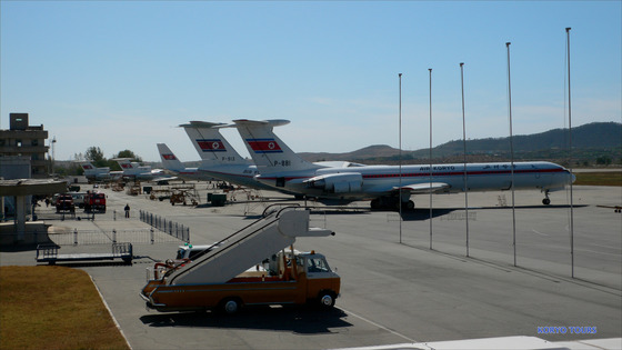 평양의 국제공항인 '순안공항' 비행장의 모습이다. [사진=플리커(Koryo Tours)]
