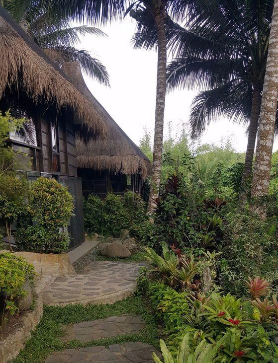 마닐라 남쪽 타가이타이 휴양지에 있는 너처 웰니스 빌리지.
