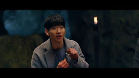영화 '산상수훈'에서 주연을 맡은 백서빈. 영화배우 백윤식씨의 차남이다.