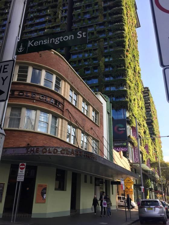 치펀데일 지역이 시작되는 켄싱턴 스트리트 초입에 낡은 붉은 벽돌 건물 '올드클레어 호텔'이 있다. 1810년부터 맥주 브루어리(공장)로쓰이던 건물을 호텔로 만들었다.