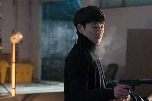 '맨투맨'에서 고스트 요원 서기철 역할을 맡아 액션 연기를 선보인 태인호. [사진 JTBC]
