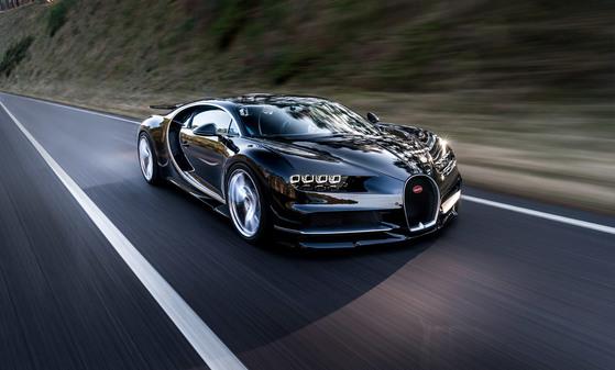 디지털트렌드 '세계에서 가장 비싼 자동차' 공동 7위 부가티 치론 [부가티]