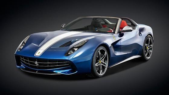 디지털트렌드 '세계에서 가장 비싼 자동차' 공동 7위 페라리 F60 아메리카. [페라리]