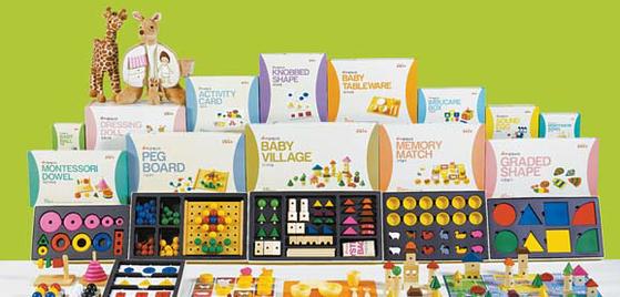 한국몬테소리는 40여 년간 유아교육 프로그램을 개발·보급해왔다. [사진 한국몬테소리]
