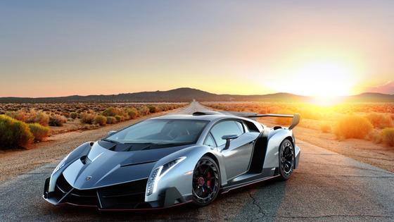 디지털트렌드 '세계에서 가장 비싼 자동차' 2위 람보르기니 베네노. [람보르기니]