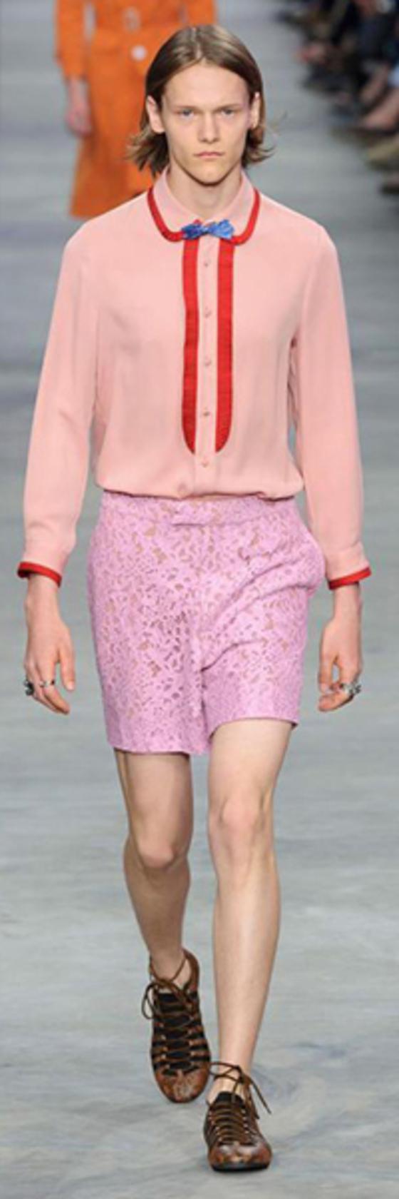 구찌의 2016 봄여름 남성복 컬렉션. [중앙포토]