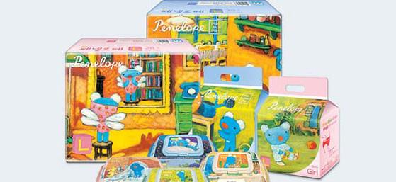 유아용품 브랜드 페넬로페는 안전한 성분만을 사용하며 높은 신뢰도를 얻고 있다.