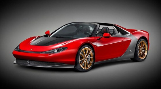 디지털트렌드 '세계에서 가장 비싼 자동차' 5위 페라리 피닌파리나 세르지오. [페라리]