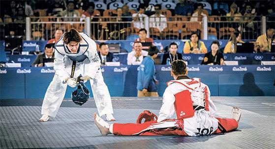 가라테가 태권도에 도전장을 던졌다. 2020 도쿄 올림픽에선 가라테도 정식종목으로 열린다. [사진 WTF]