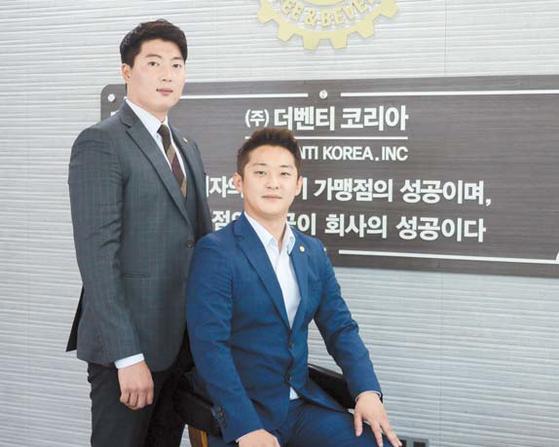 더벤티코리아의 박수암(왼쪽)?최준경 대표. [사진 더벤티코리아]