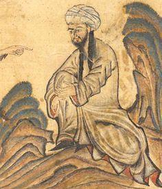 이슬람교를 창시한 무하마드. 그는 어릴 적에 부모를 모두 잃었다.